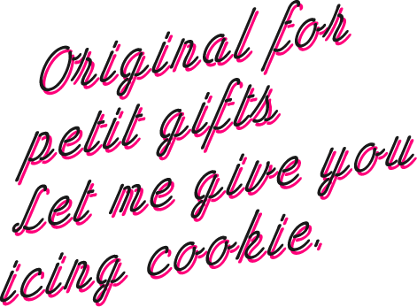 original for putit gift let me give you aicing cookies